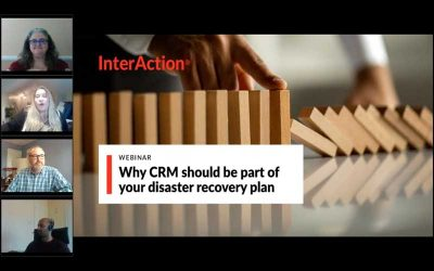 Why CRM should be part of your disaster recovery plan